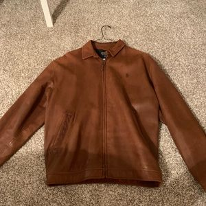 Ralph Lauren Polo genuine leather jacket
